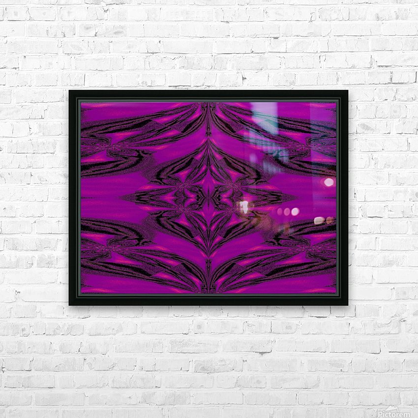 Purple Desert Song 5 HD Sublimation Metal print with Decorating Float Frame (BOX)