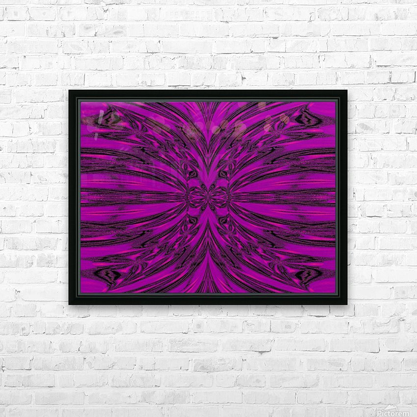 Purple Desert Song 8 HD Sublimation Metal print with Decorating Float Frame (BOX)