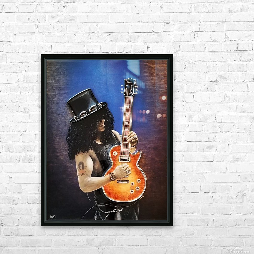 Bent Metal HD Sublimation Metal print with Decorating Float Frame (BOX)