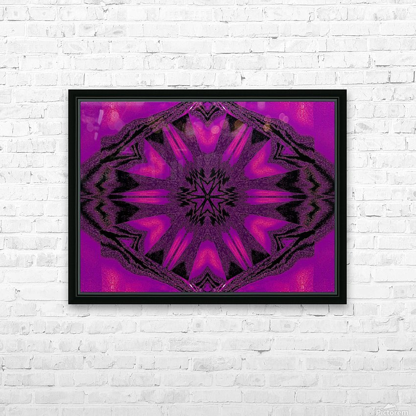 Purple Desert Song 22 HD Sublimation Metal print with Decorating Float Frame (BOX)