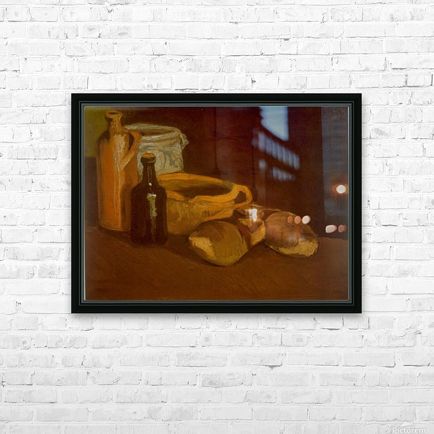 Cogs by Van Gogh HD Sublimation Metal print with Decorating Float Frame (BOX)