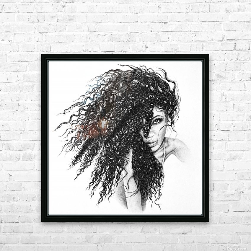 The Muse HD Sublimation Metal print with Decorating Float Frame (BOX)