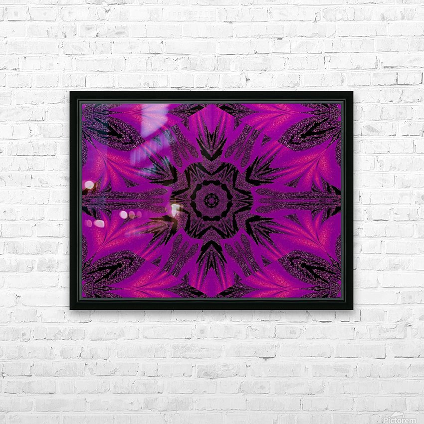 Purple Desert Song 34 HD Sublimation Metal print with Decorating Float Frame (BOX)