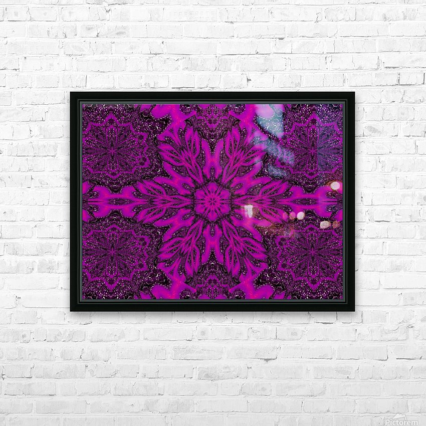 Purple Desert Song 39 HD Sublimation Metal print with Decorating Float Frame (BOX)
