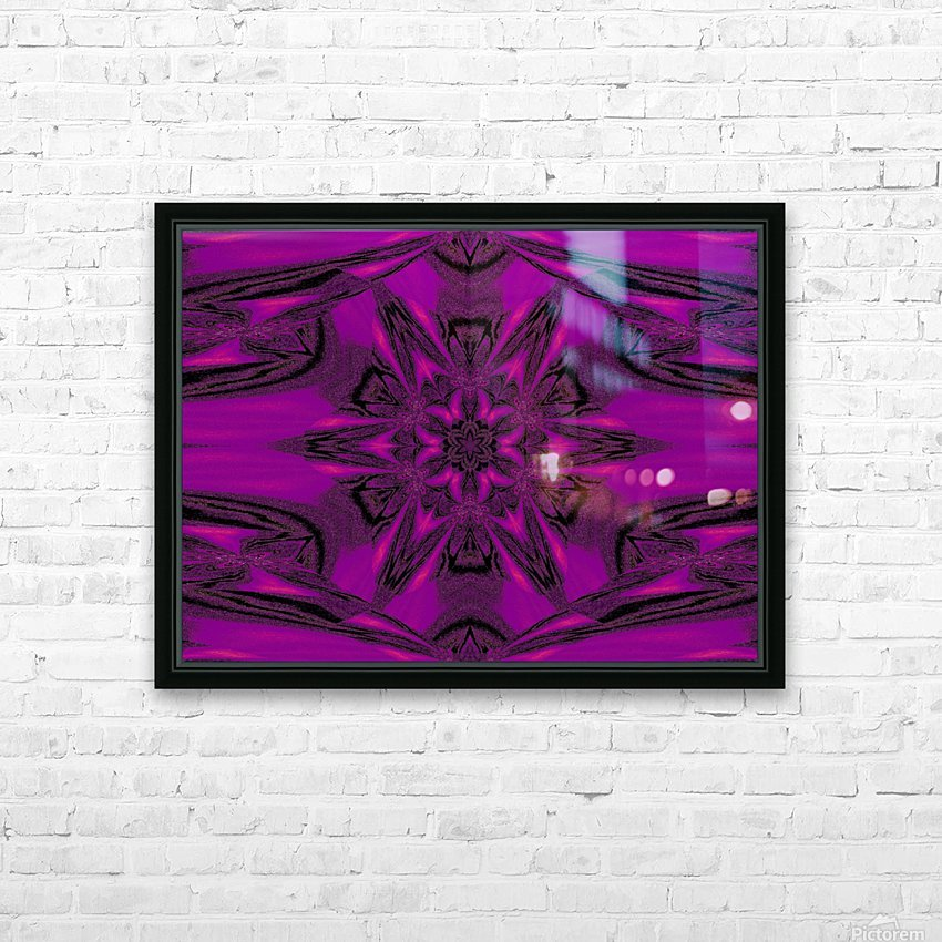 Purple Desert Song 40 HD Sublimation Metal print with Decorating Float Frame (BOX)