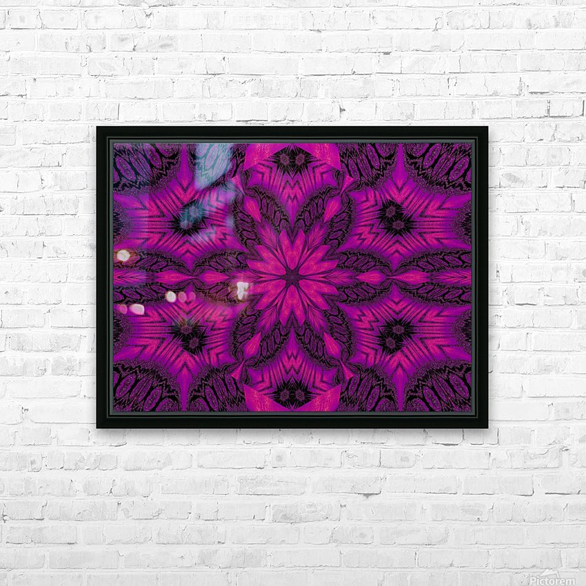 Purple Desert Song 41 HD Sublimation Metal print with Decorating Float Frame (BOX)