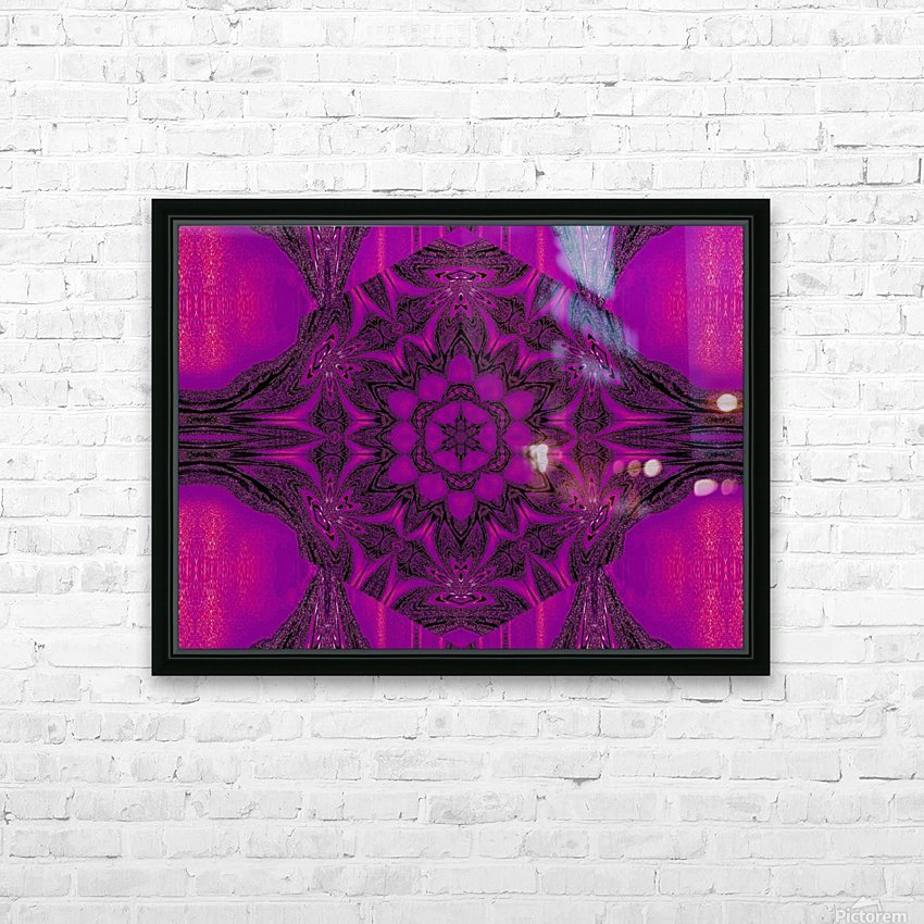 Purple Desert Song 43 HD Sublimation Metal print with Decorating Float Frame (BOX)