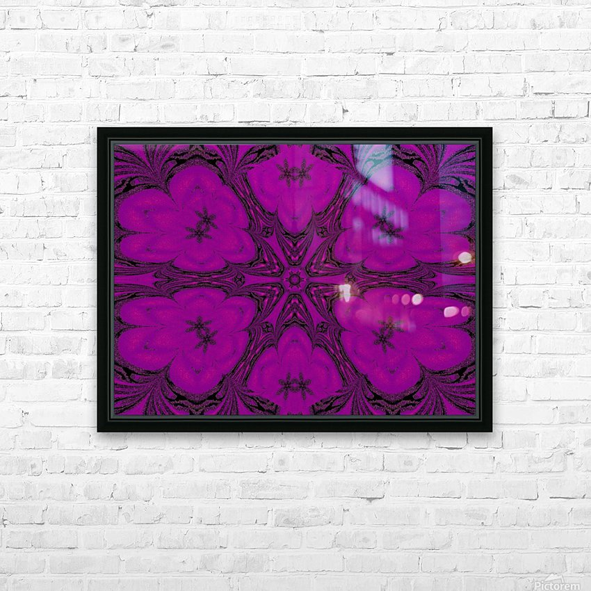 Purple Desert Song 47 HD Sublimation Metal print with Decorating Float Frame (BOX)