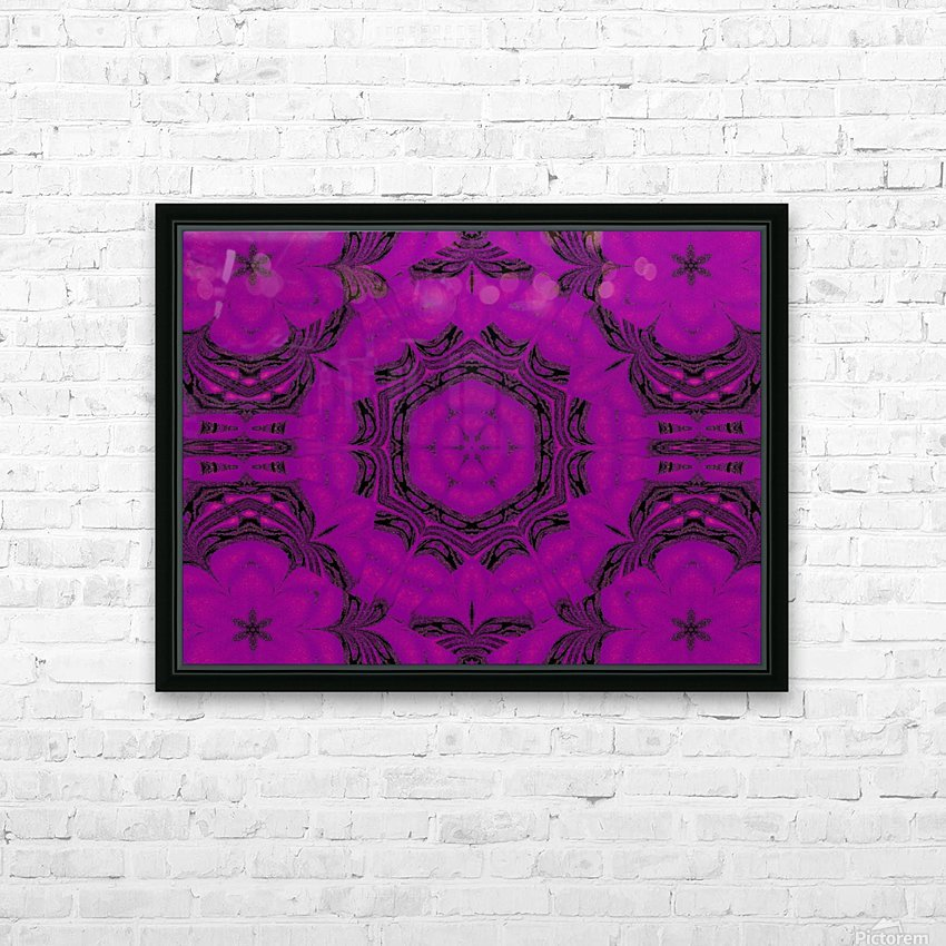 Purple Desert Song 48 HD Sublimation Metal print with Decorating Float Frame (BOX)