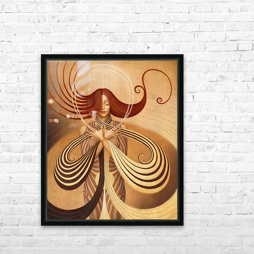 UNIVERSUM HD Sublimation Metal print with Decorating Float Frame (BOX)