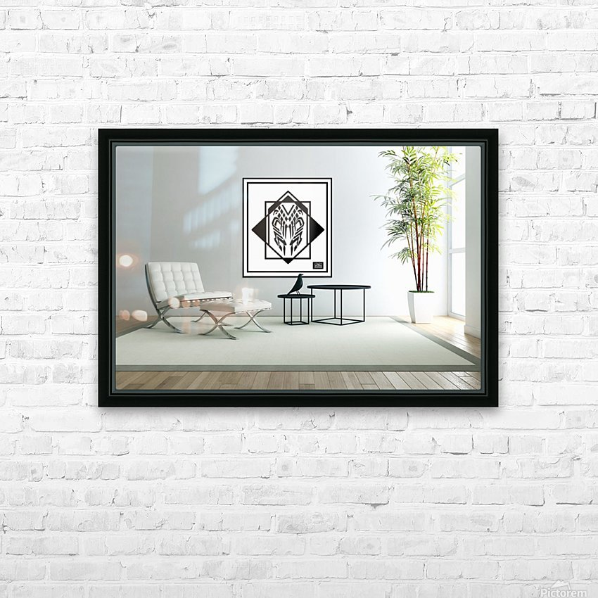 art - monogram artdesign26 wall art 101 HD Sublimation Metal print with Decorating Float Frame (BOX)