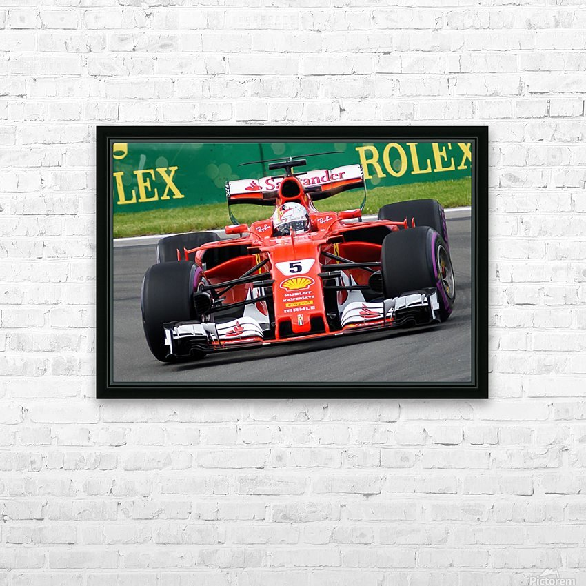 _TEL6456 HD Sublimation Metal print with Decorating Float Frame (BOX)
