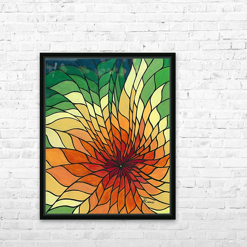 Radiance HD Sublimation Metal print with Decorating Float Frame (BOX)