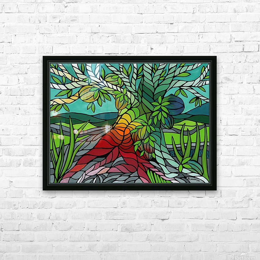 The Giving Tree HD Sublimation Metal print with Decorating Float Frame (BOX)