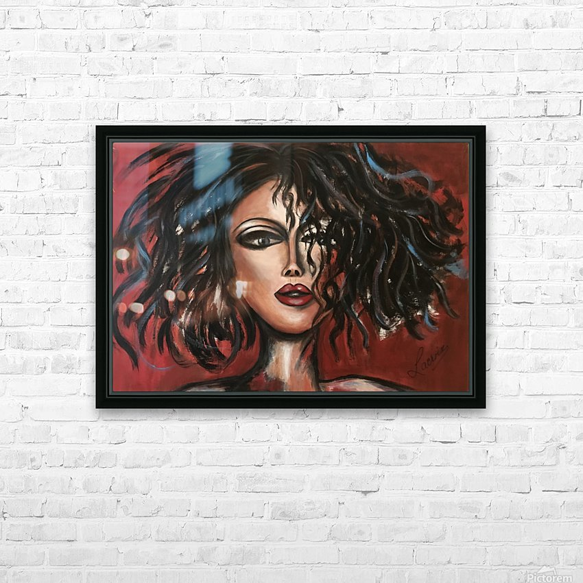 Mamzelle HD Sublimation Metal print with Decorating Float Frame (BOX)