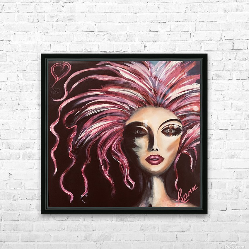 Burlesque HD Sublimation Metal print with Decorating Float Frame (BOX)