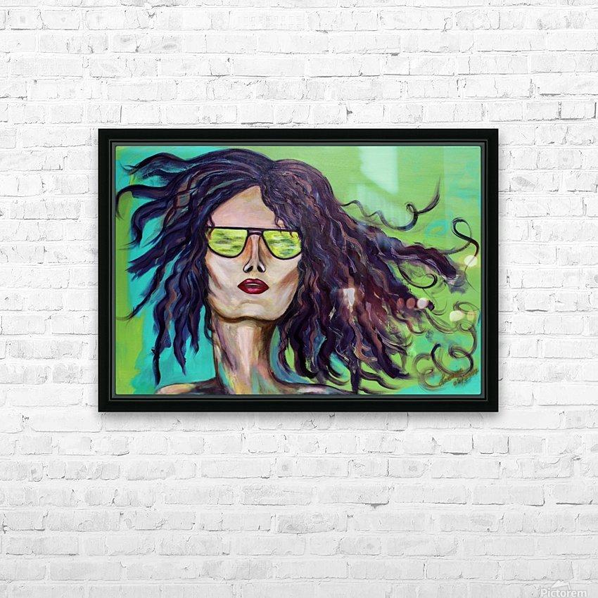 Au Rendez Vous HD Sublimation Metal print with Decorating Float Frame (BOX)