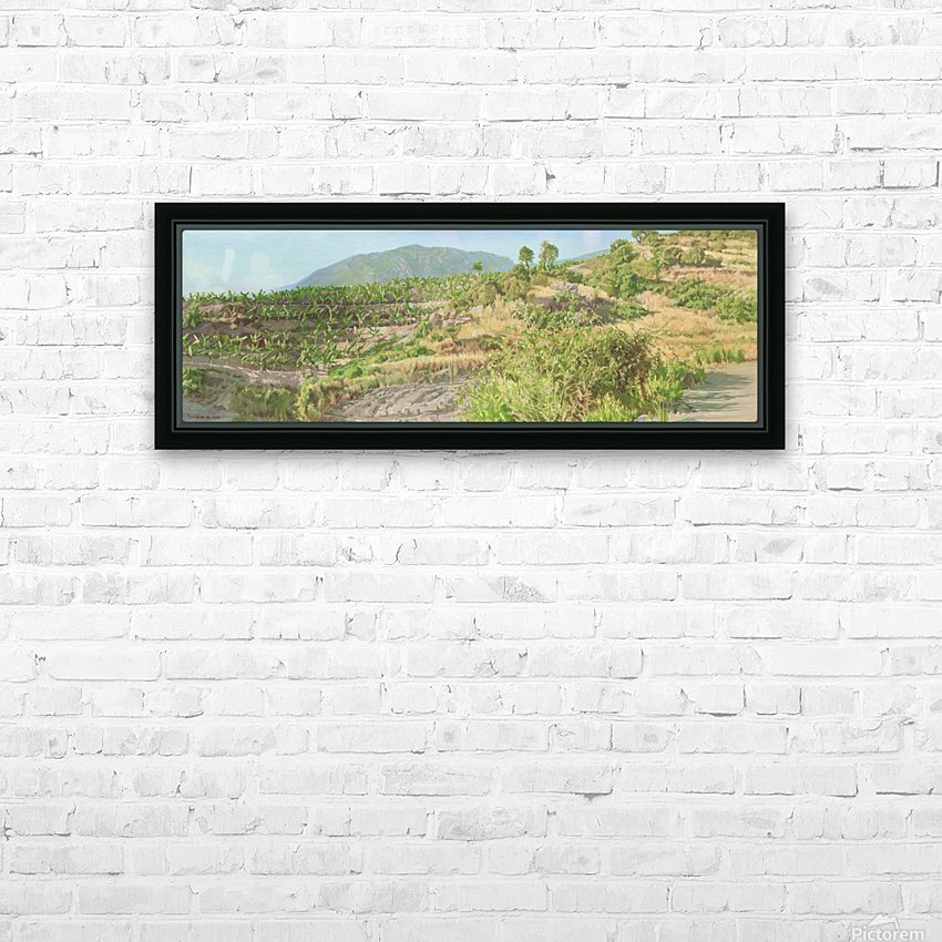 Foothills_In_Turkey HD Sublimation Metal print with Decorating Float Frame (BOX)