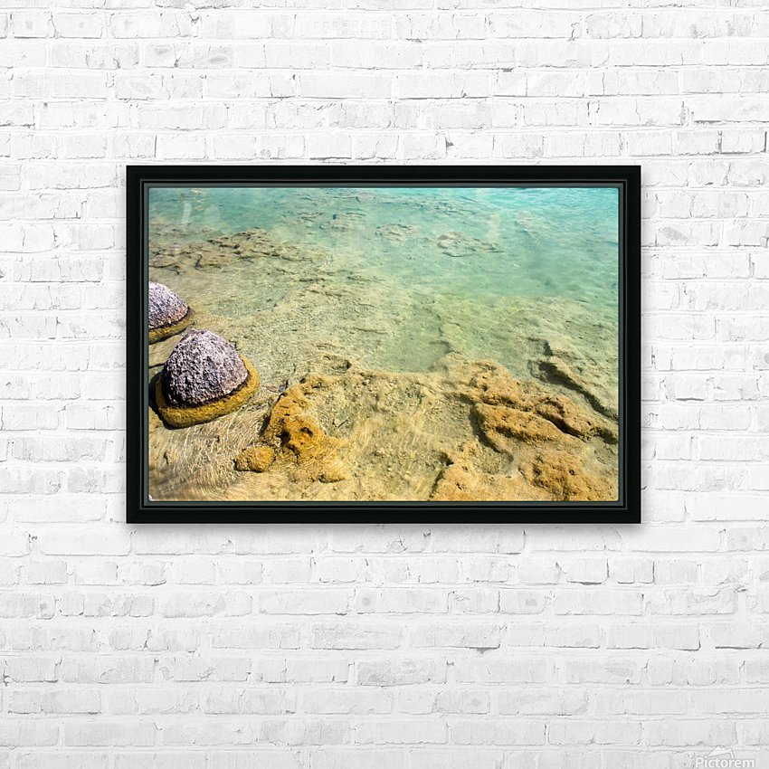 Crystal Clear HD Sublimation Metal print with Decorating Float Frame (BOX)