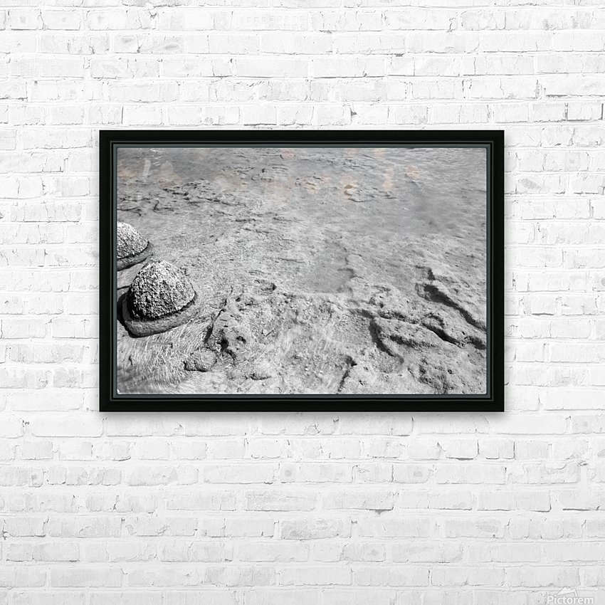 Crystal Clear B&W HD Sublimation Metal print with Decorating Float Frame (BOX)