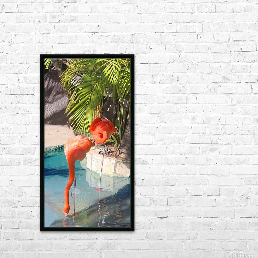 Living the Life HD Sublimation Metal print with Decorating Float Frame (BOX)