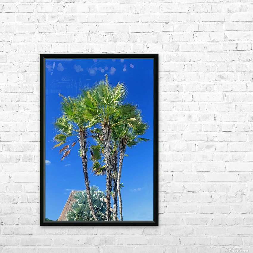Growing to the Sky HD Sublimation Metal print with Decorating Float Frame (BOX)