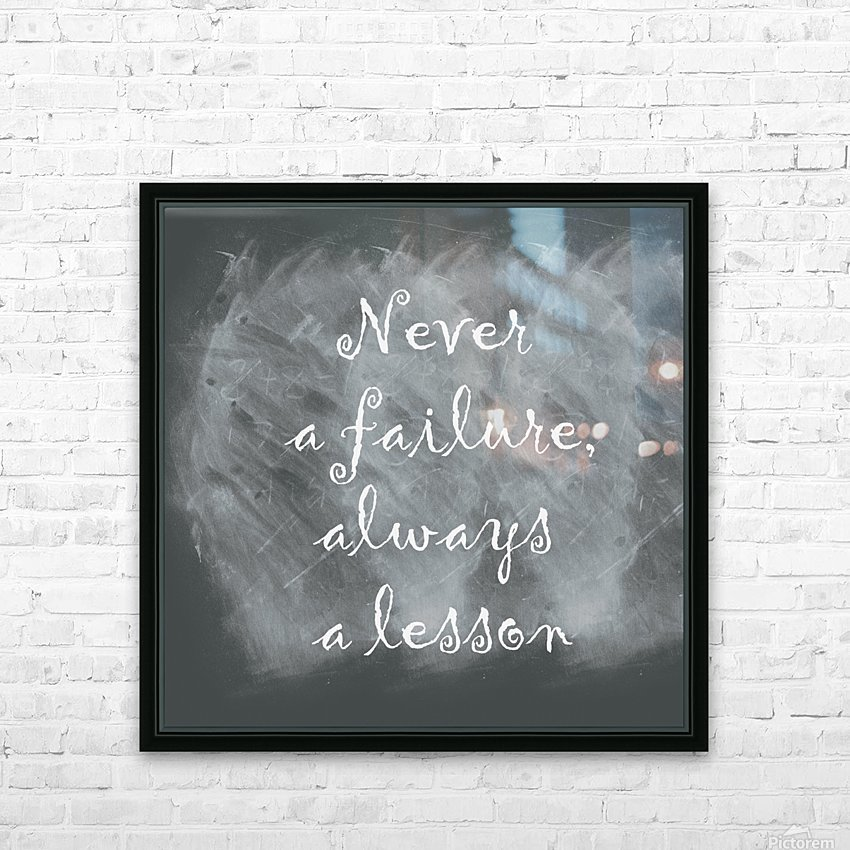 Never fail HD Sublimation Metal print with Decorating Float Frame (BOX)