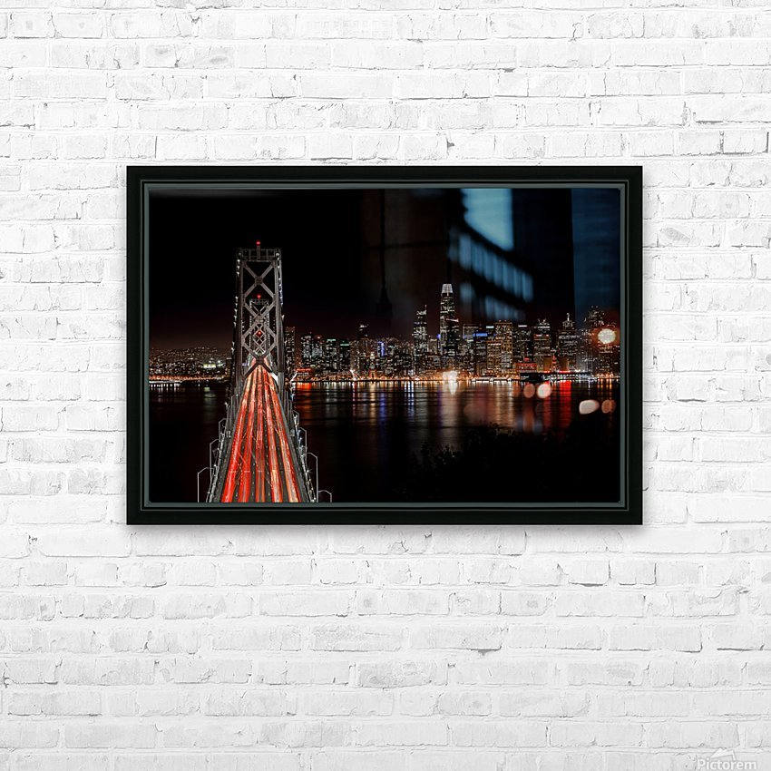 Spin City HD Sublimation Metal print with Decorating Float Frame (BOX)
