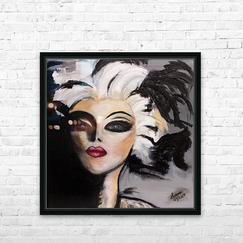 My Neighbour with White Hair HD Sublimation Metal print with Decorating Float Frame (BOX)