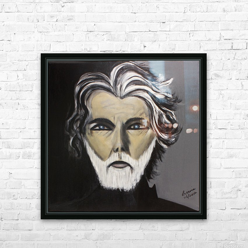 My Friend with the White Beard HD Sublimation Metal print with Decorating Float Frame (BOX)