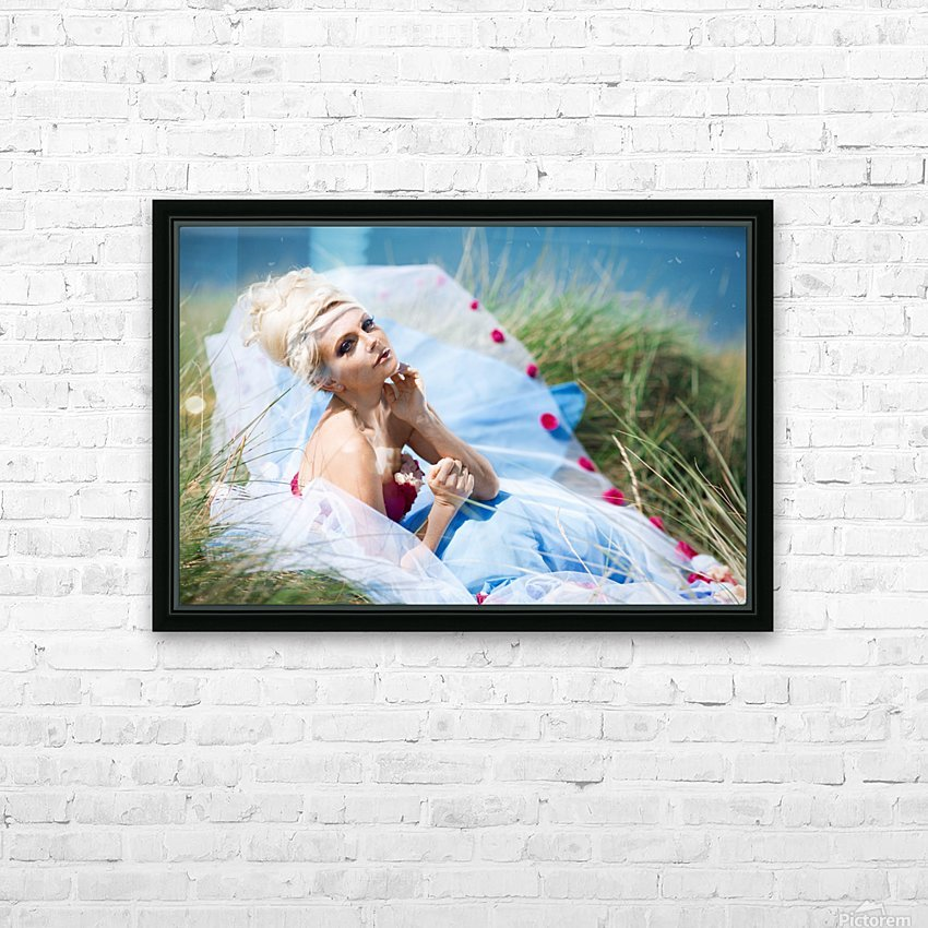 Summer Breeze HD Sublimation Metal print with Decorating Float Frame (BOX)