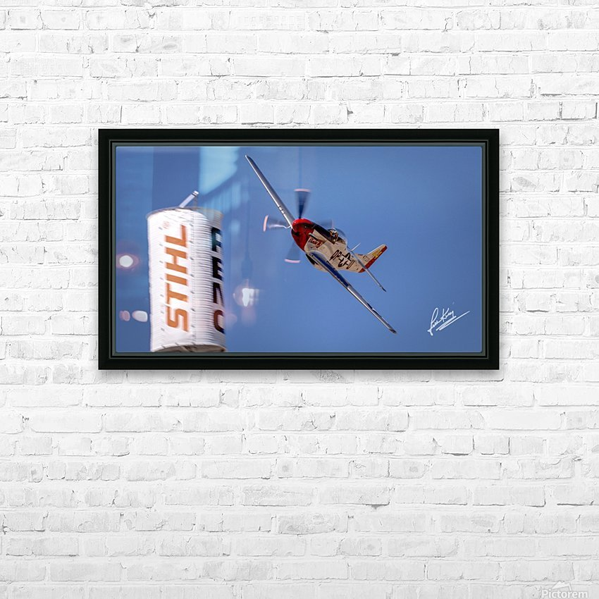John King 24 HD Sublimation Metal print with Decorating Float Frame (BOX)