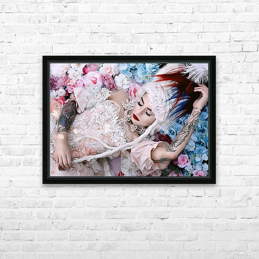 Sleeping Beauty HD Sublimation Metal print with Decorating Float Frame (BOX)