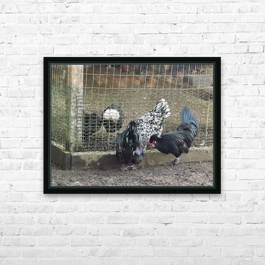 pics 044 HD Sublimation Metal print with Decorating Float Frame (BOX)