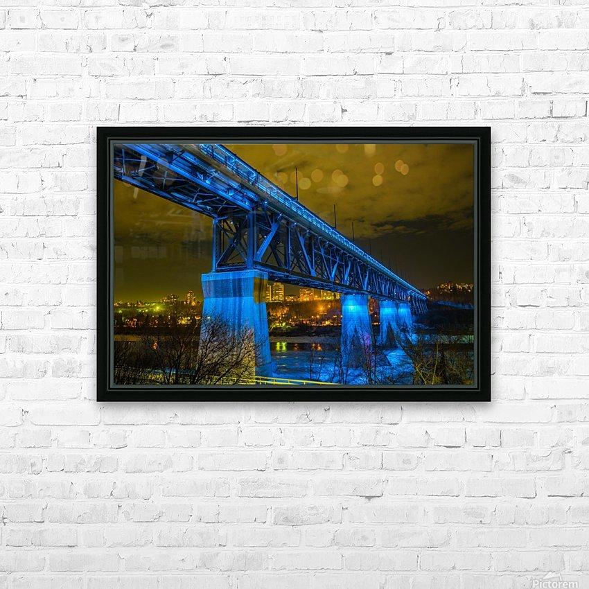 Blue Bridge HD Sublimation Metal print with Decorating Float Frame (BOX)