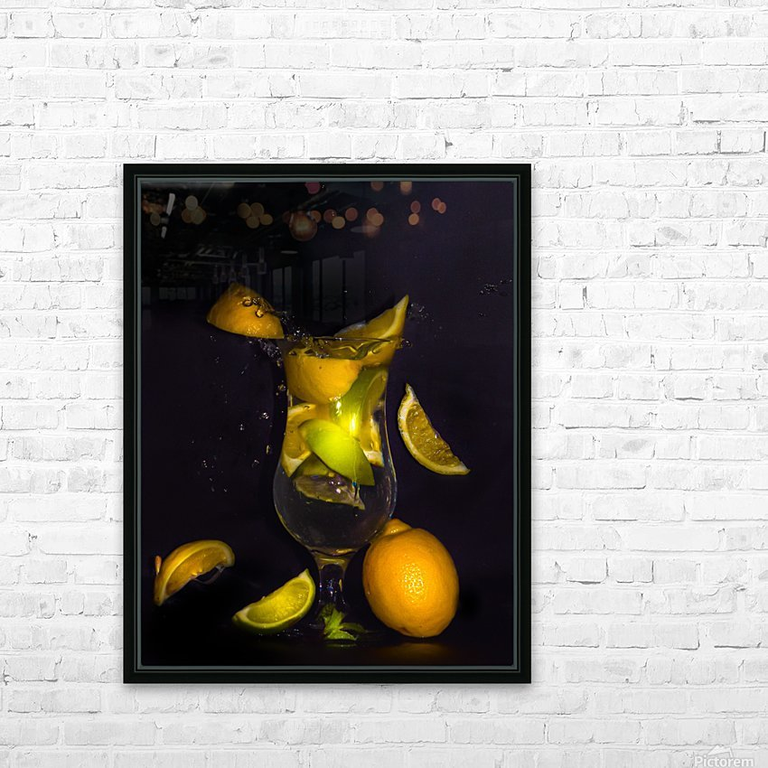 Fraicheur.  HD Sublimation Metal print with Decorating Float Frame (BOX)