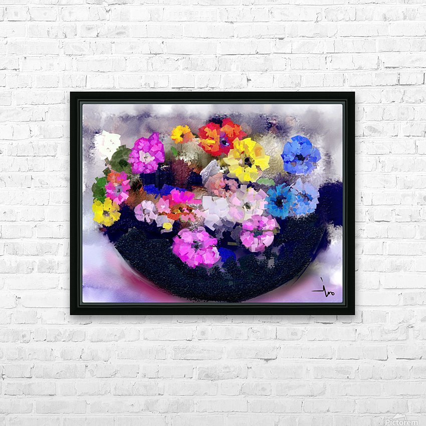 0014 HD Sublimation Metal print with Decorating Float Frame (BOX)
