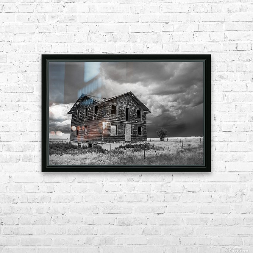 Calm Before The Storm - Red Coat Trail HD Sublimation Metal print with Decorating Float Frame (BOX)