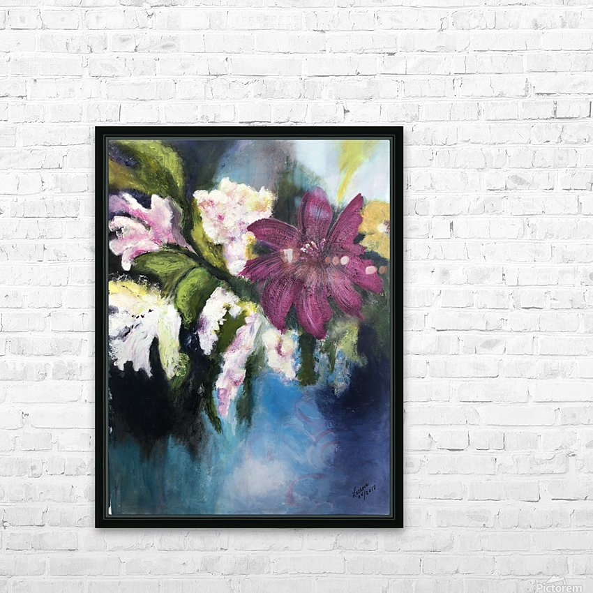 L Eclosion HD Sublimation Metal print with Decorating Float Frame (BOX)