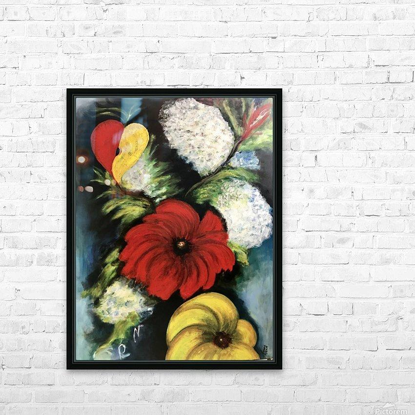Des Fleurs pour Nathalie HD Sublimation Metal print with Decorating Float Frame (BOX)