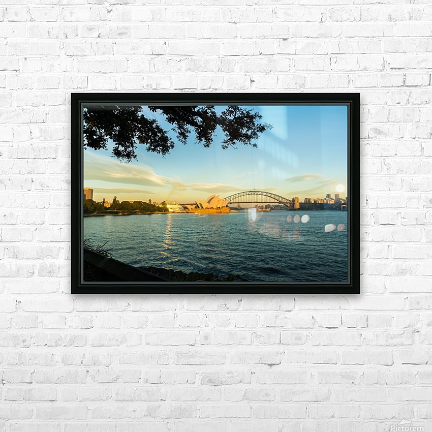 Sydney Opera House in the pre dawn light HD Sublimation Metal print with Decorating Float Frame (BOX)