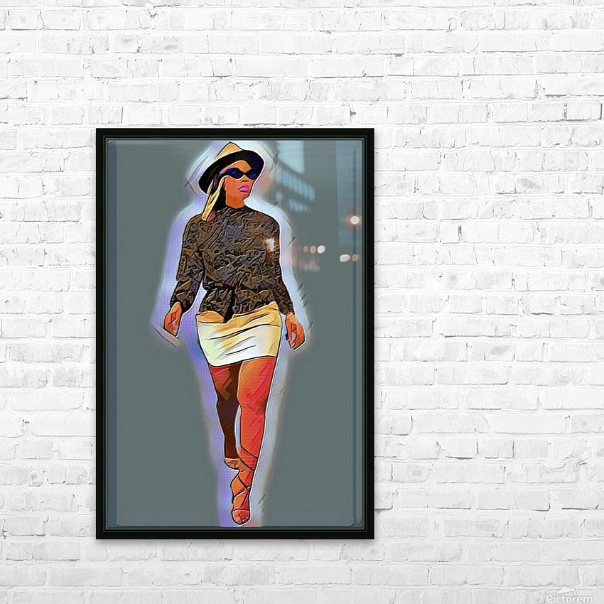 Hey lover HD Sublimation Metal print with Decorating Float Frame (BOX)