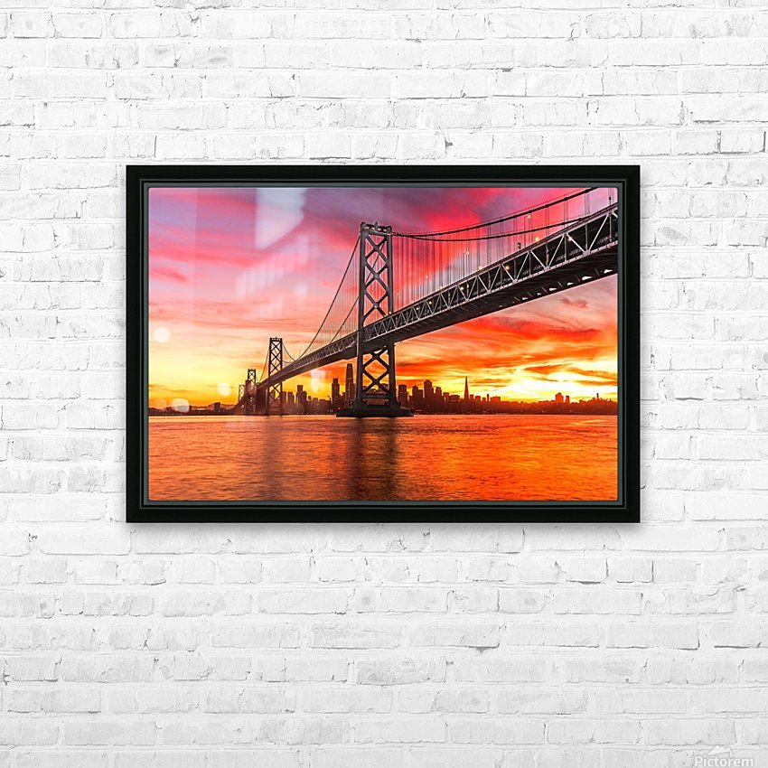 Grandmaster HD Sublimation Metal print with Decorating Float Frame (BOX)