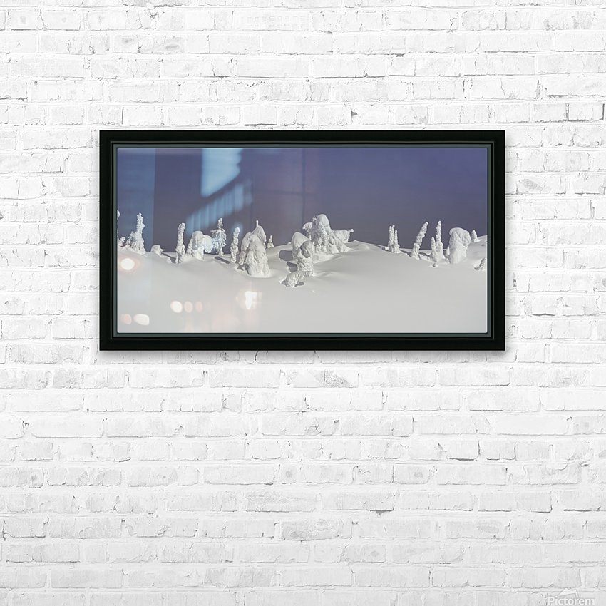 Frozen snow ghosts 1 of 1 HD Sublimation Metal print with Decorating Float Frame (BOX)
