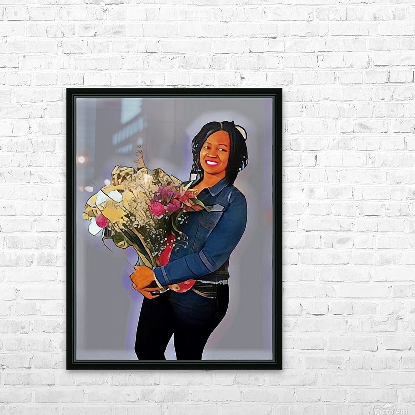 Grammy HD Sublimation Metal print with Decorating Float Frame (BOX)