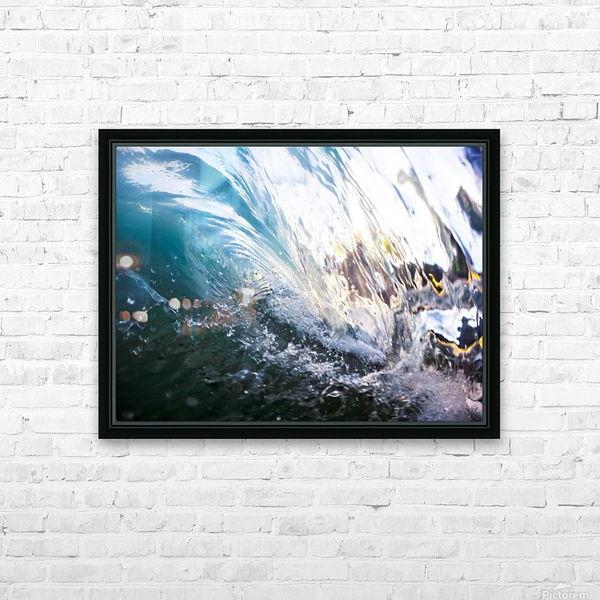 Crash HD Sublimation Metal print with Decorating Float Frame (BOX)