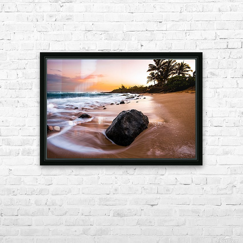 Smooth Shore HD Sublimation Metal print with Decorating Float Frame (BOX)