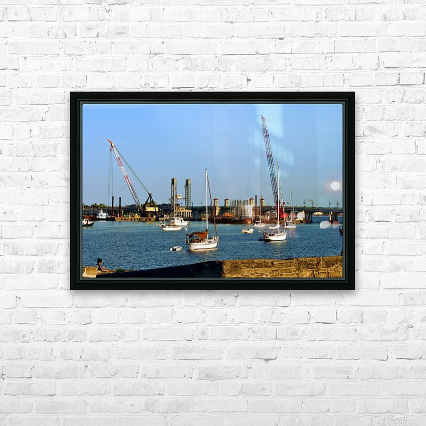 walmart 158 HD Sublimation Metal print with Decorating Float Frame (BOX)