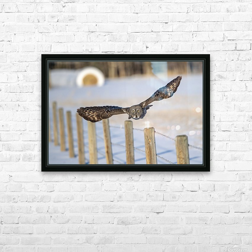 The Take Off HD Sublimation Metal print with Decorating Float Frame (BOX)