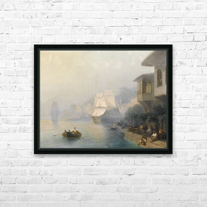 View of the Bosporus HD Sublimation Metal print with Decorating Float Frame (BOX)